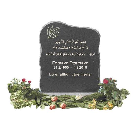 gravsteiner - Muslimsk begravelsesbyrå