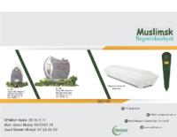 Brosjyre muslimsk begravelsesbyrå norsk ny