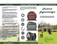 Brosjyre muslimsk begravelsesbyrå norsk