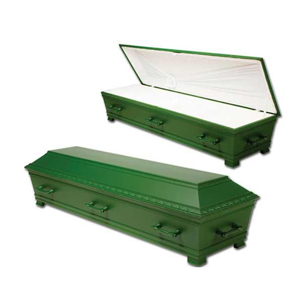 Muslimsk Begravelsesbyrå Kiste Madni-Grønt, Grønnlakkert