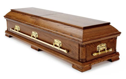 Muslimsk Begravelsesbyrå kiste Opus, Eik Continental coffin