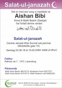 Muslimsk Begravelsesbyrå janazah
