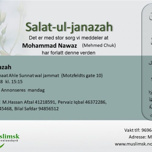 Janazah M.Nawaz - muslimsk begravelsesbyrå