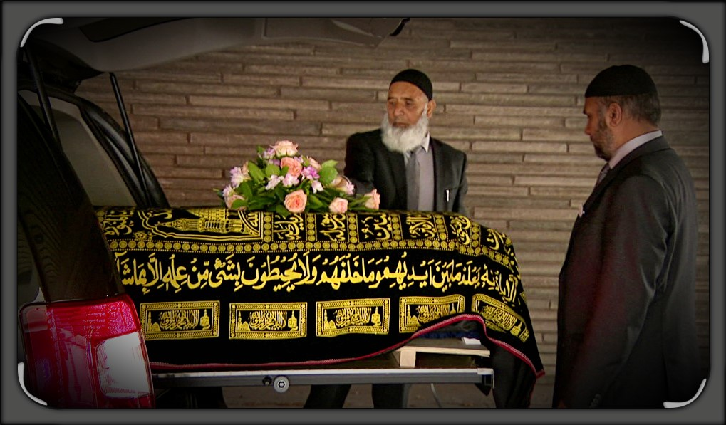 Muslim funeral Oslo