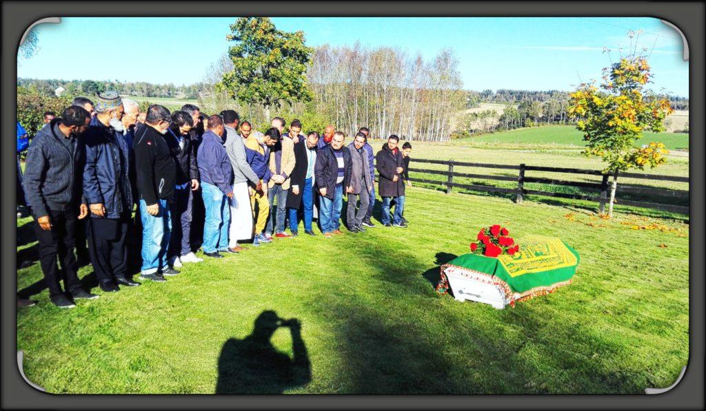Muslimsk Begravelse- salat ul janazah -begravelsesbønn
