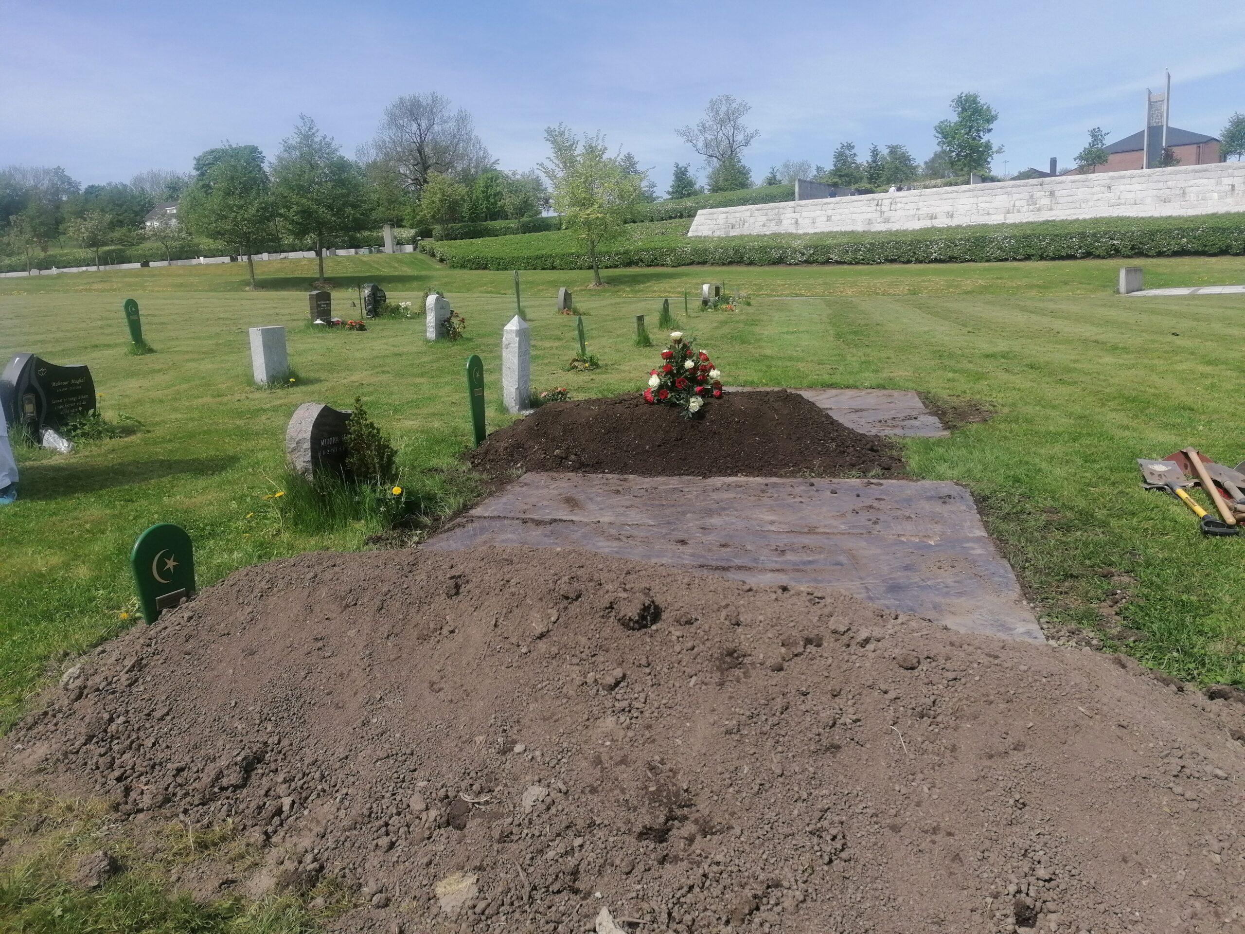 Østenstad Kirkegård gravplasser Muslimsk Begravelsesbyrå 6